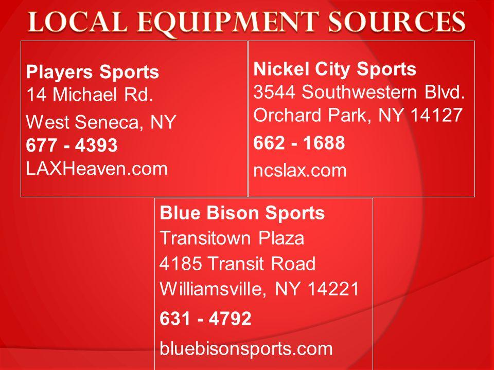 Nickel City Sports 3544 Southwestern Blvd.