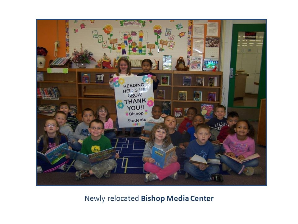 Newly relocated Bishop Media Center