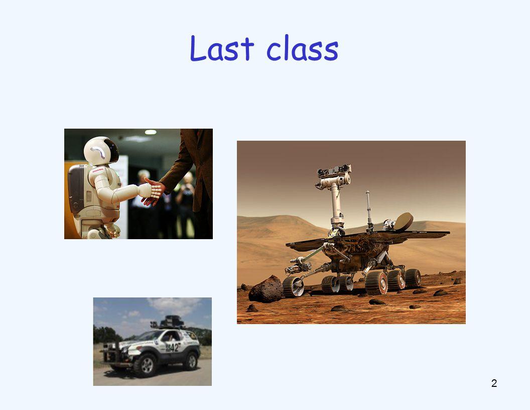 2 Last class