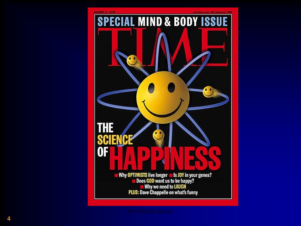 Prof Yoram Barak 35 Spending Money on Others Promotes Happiness.