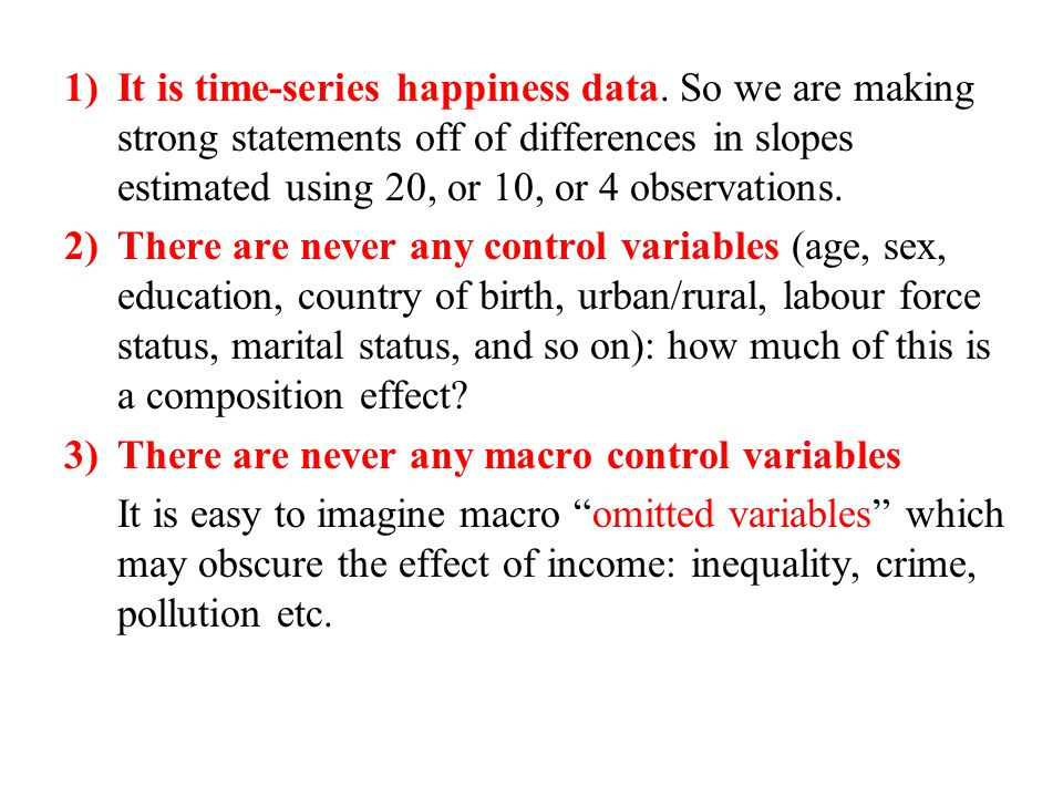 1)It is time-series happiness data.