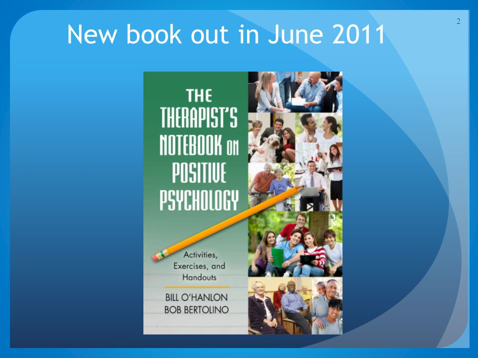 2 New book out in June 2011