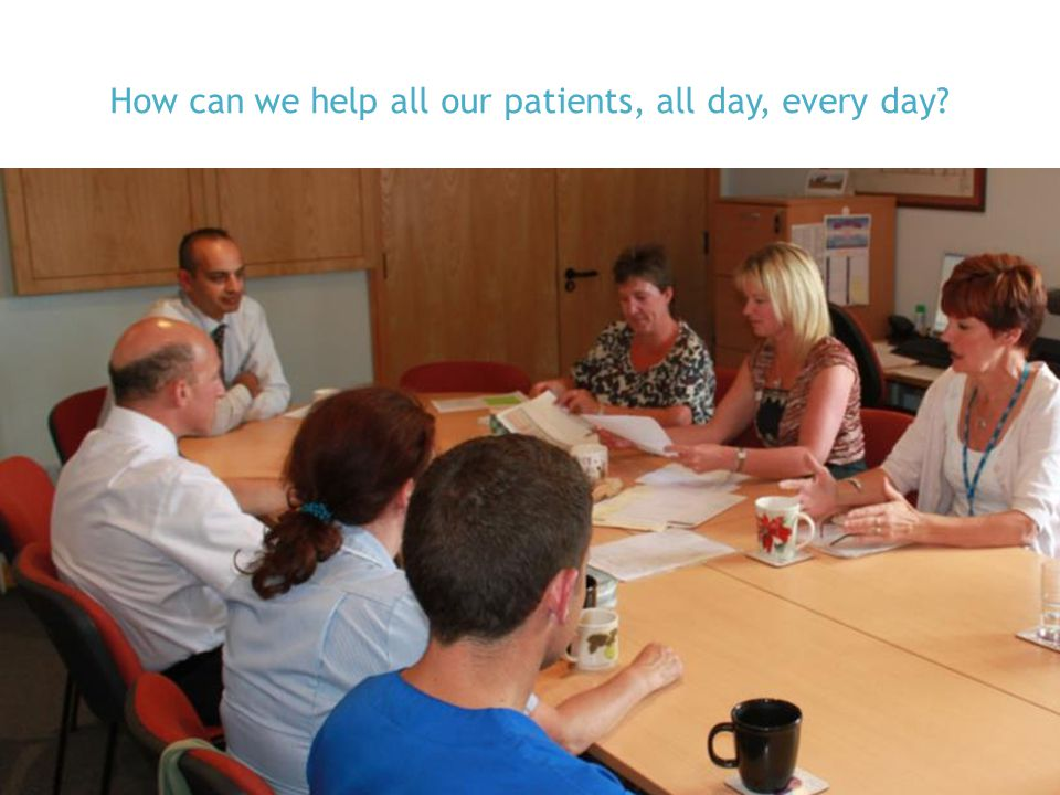 How can we help all our patients, all day, every day