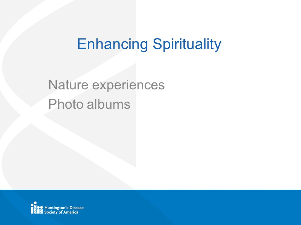 Enhancing Spirituality Nature experiences Photo albums