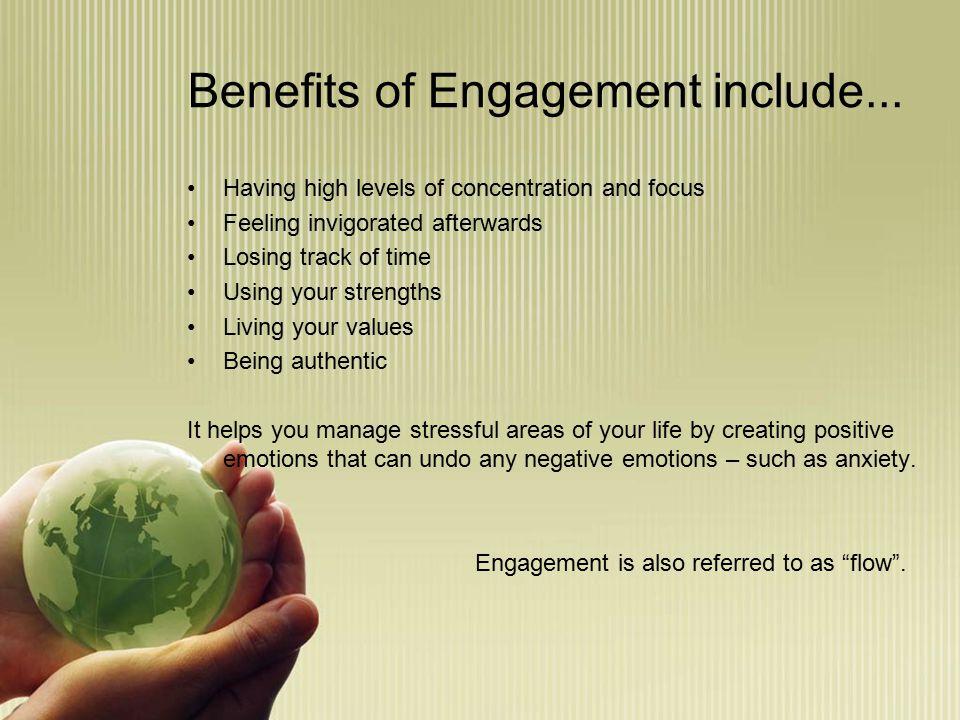 Engagement skills...