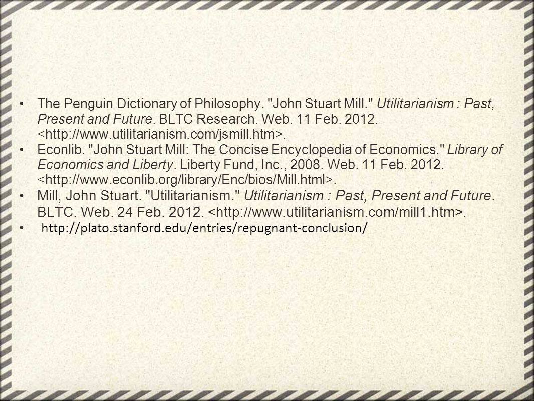 The Penguin Dictionary of Philosophy.