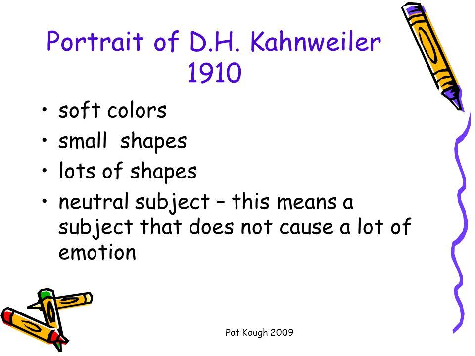 Pat Kough 2009 Portrait of D.H.
