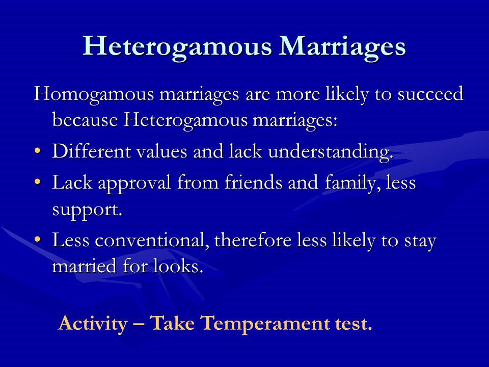 Race – 97% marriages of same race.Race – 97% marriages of same race.