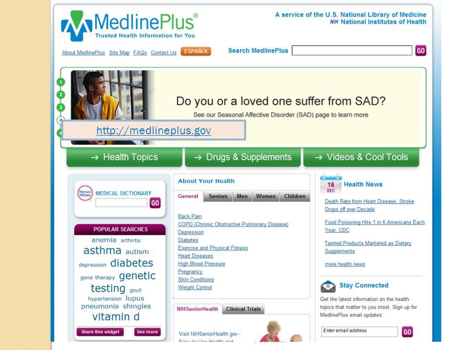 4/26/2015 http://medlineplus.gov