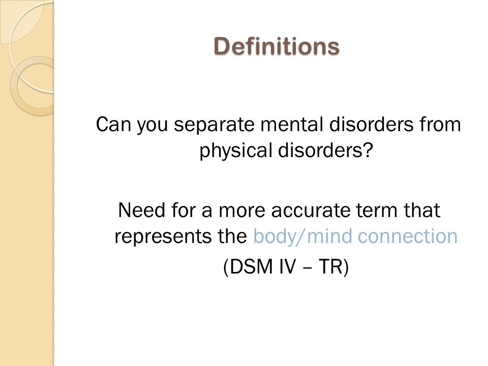Mental health = Applies to everyone.