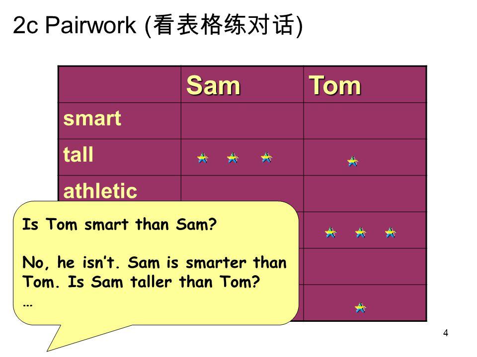 SamTom smart tall athletic quiet thin funny 5