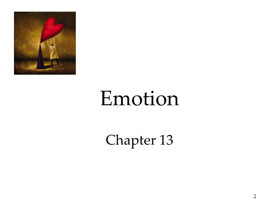 2 Emotion Chapter 13