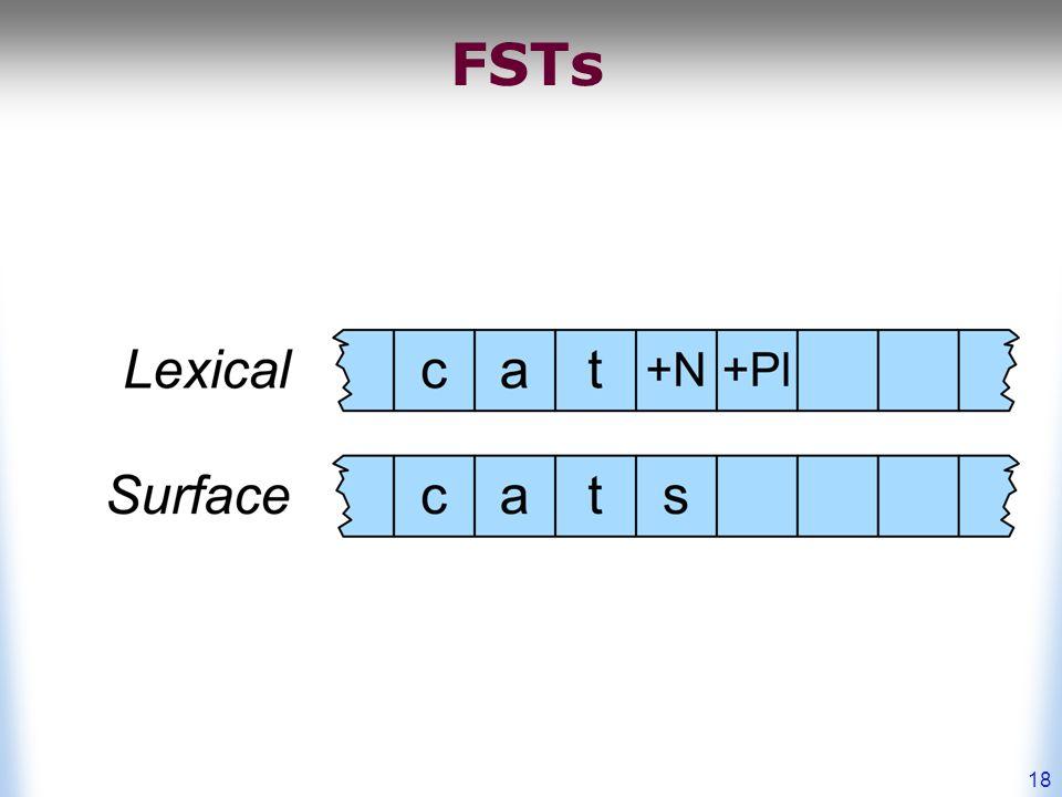 18 FSTs