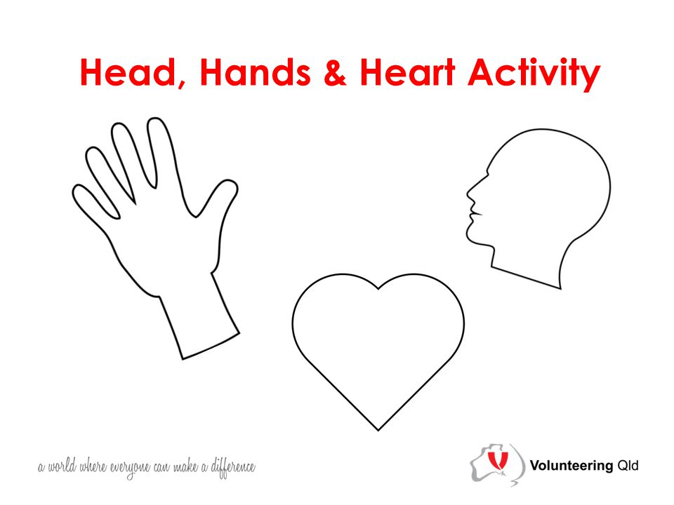 Head, Hands & Heart Activity