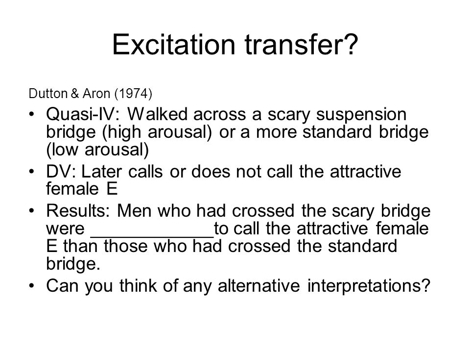 Excitation transfer.