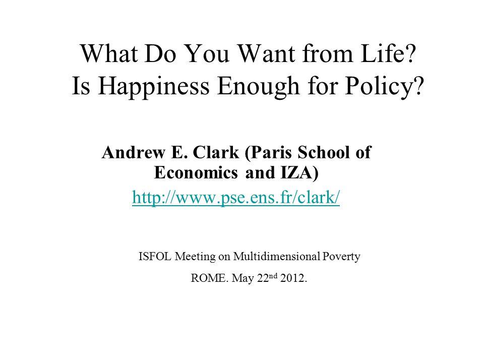 2) Does happiness predict hypothetical choice.Benjamin, D., Heffetz, O., Kimball, M.