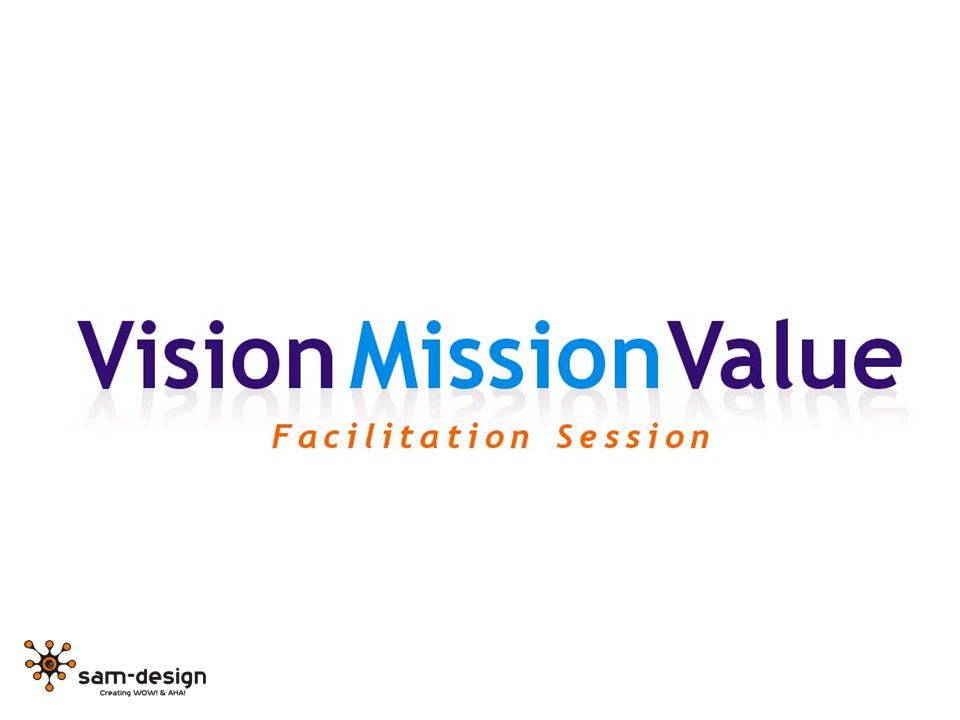 What we will try to do today: Vision – Who could we be in the future.