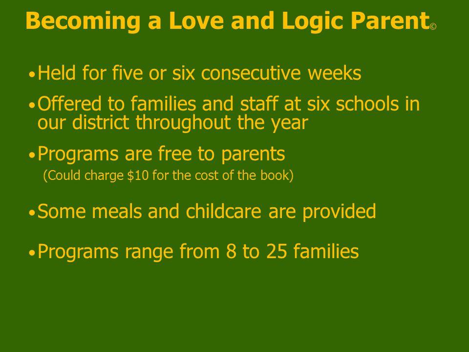 Parenting The Love & Logic Way 4.Avoiding power struggles 5.