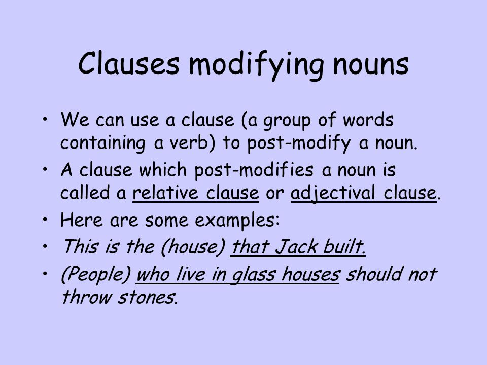 The syntax of noun phrases The headword of a noun phrase may be pre-modified by determiners, adjectives or other nouns.