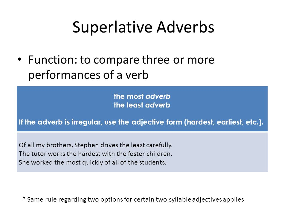 Edit this paragraph for errors in the use of comparatives and superlatives.