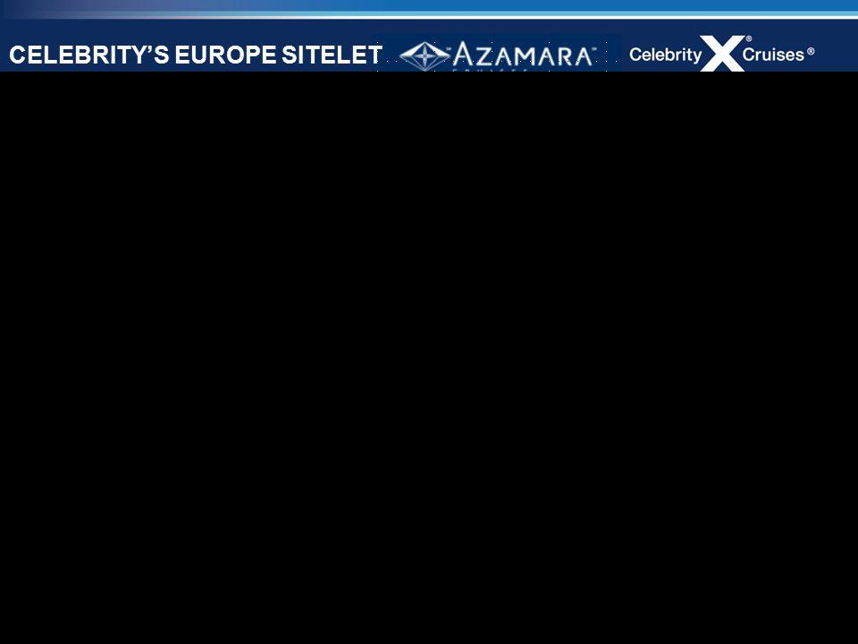 38 CELEBRITY'S EUROPE SITELET