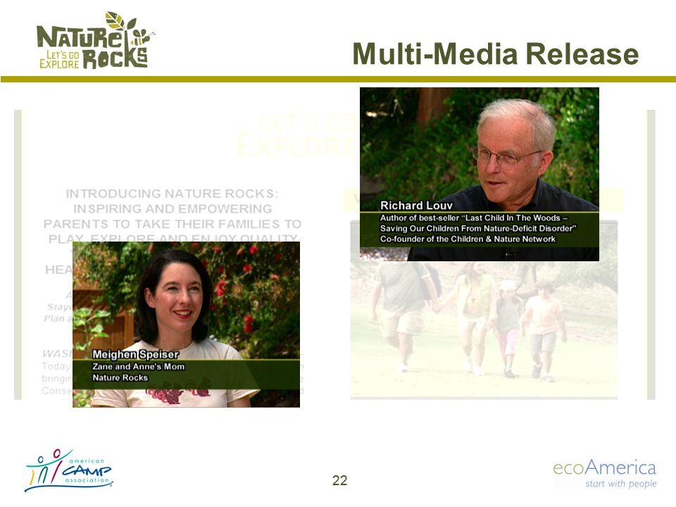 Multi-Media Release 22