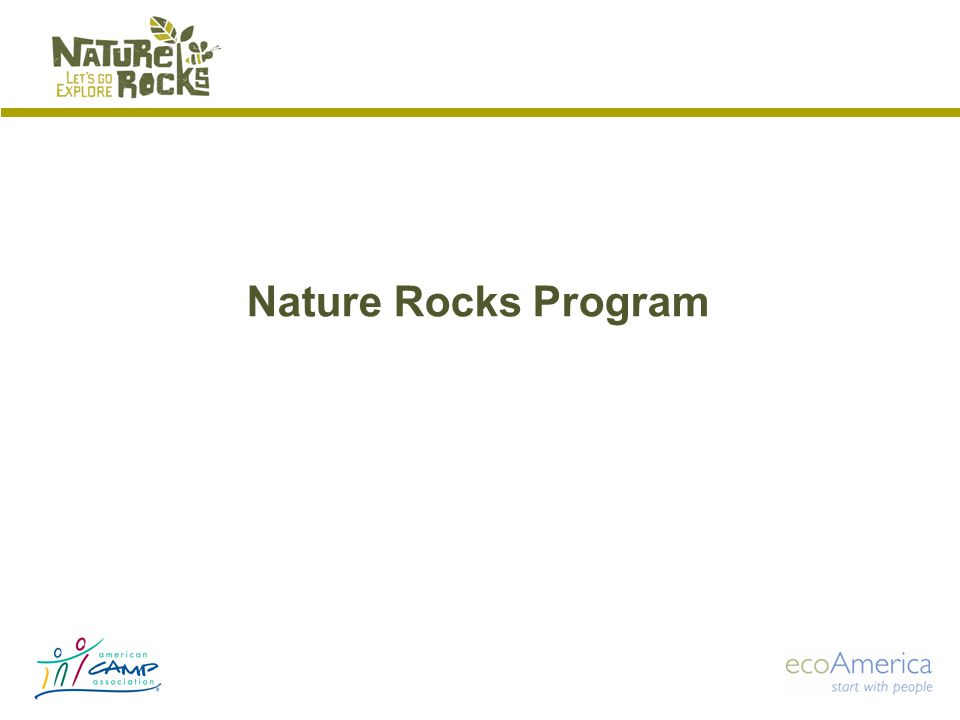 Nature Rocks Program