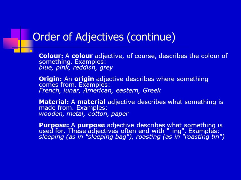 Adjectives With Verbs How are adjectives used with verbs.