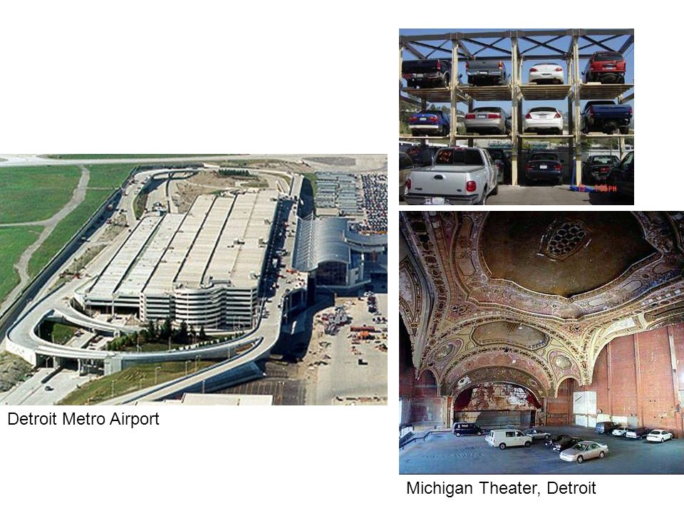 Michigan Theater, Detroit Detroit Metro Airport