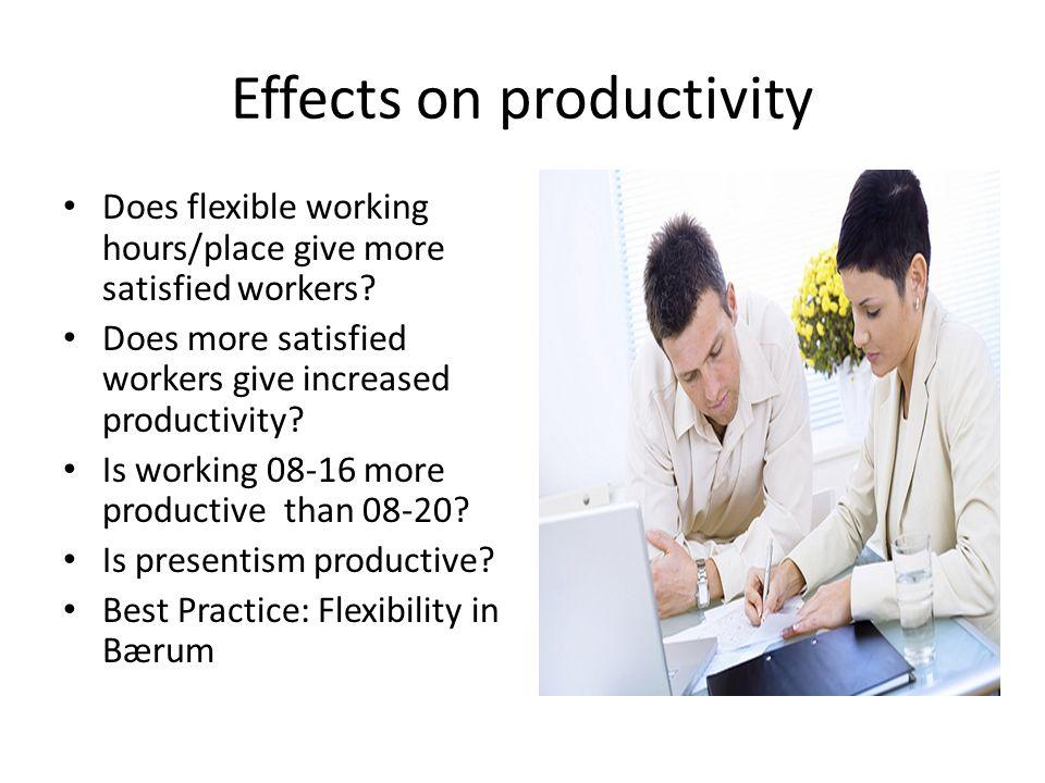 Effects on social capital.