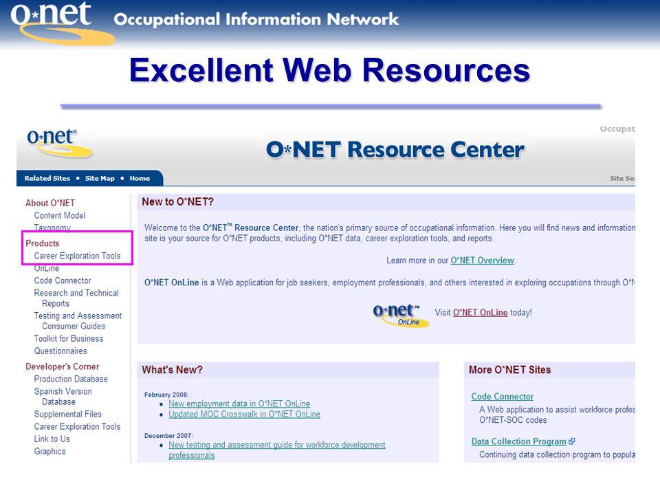 Excellent Web Resources
