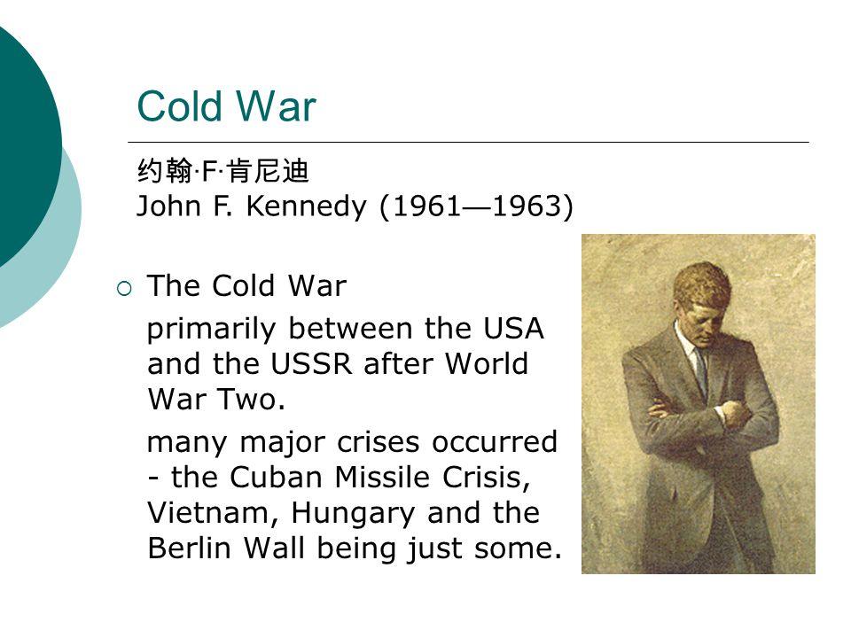 Great Depression and World War II  New Deal 富兰克林 · 罗斯福 Franklin D. Roosevelt (1933—1945)