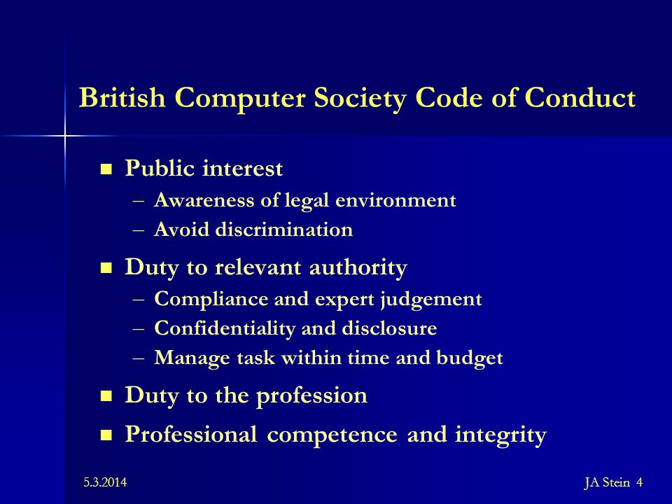5.3.2014JA Stein 25 Data Protection Act (1998) Implementing European standards as per the Legal protection of databases Directive (1996) Registration Enlargement of jurisdiction to cover more types of data systems – Manual data – Videotapes, CDs, etc.