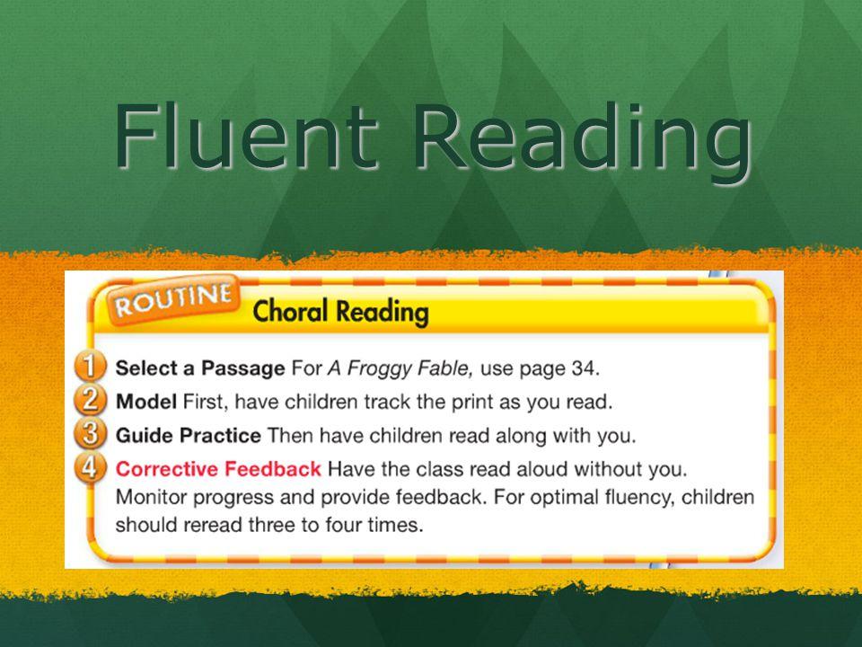 Fluent Reading
