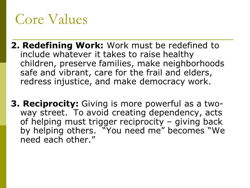 Core Values 2.