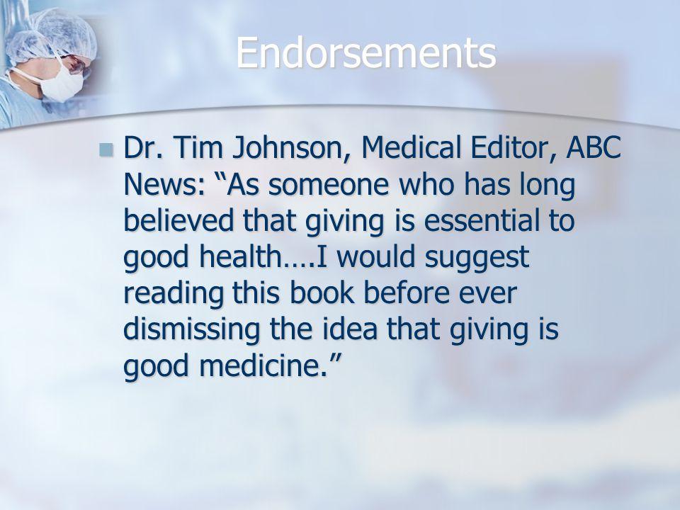 Endorsements Dr.
