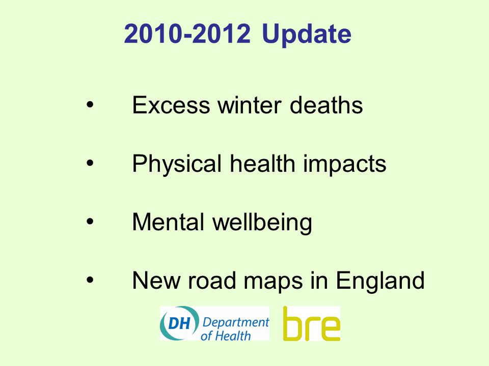 Physical Health Impacts More are emerging