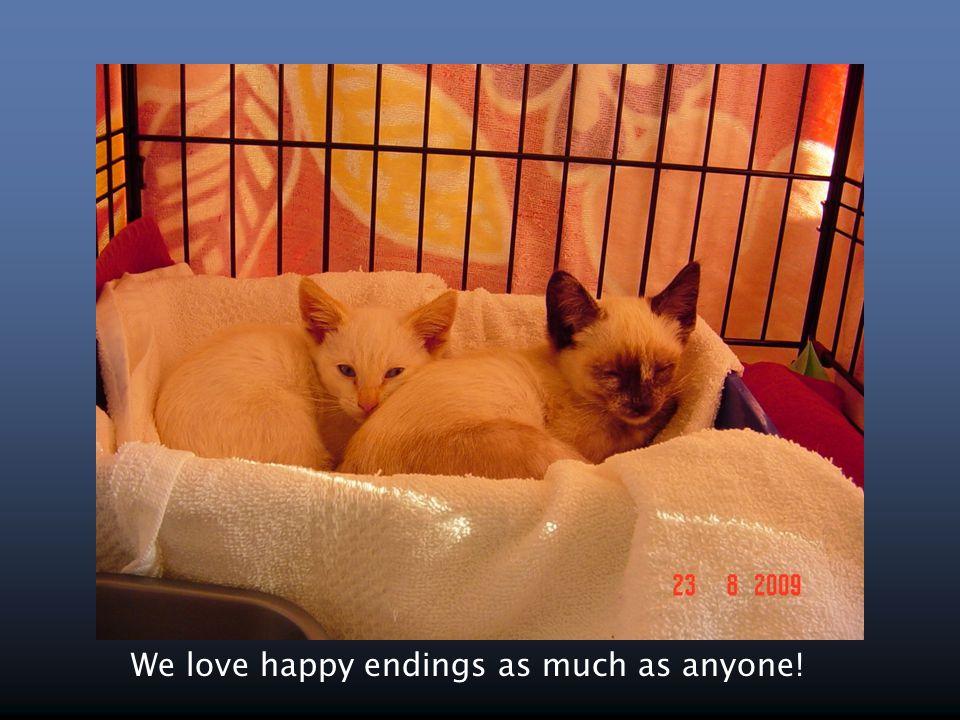 We love happy endings as much as anyone!