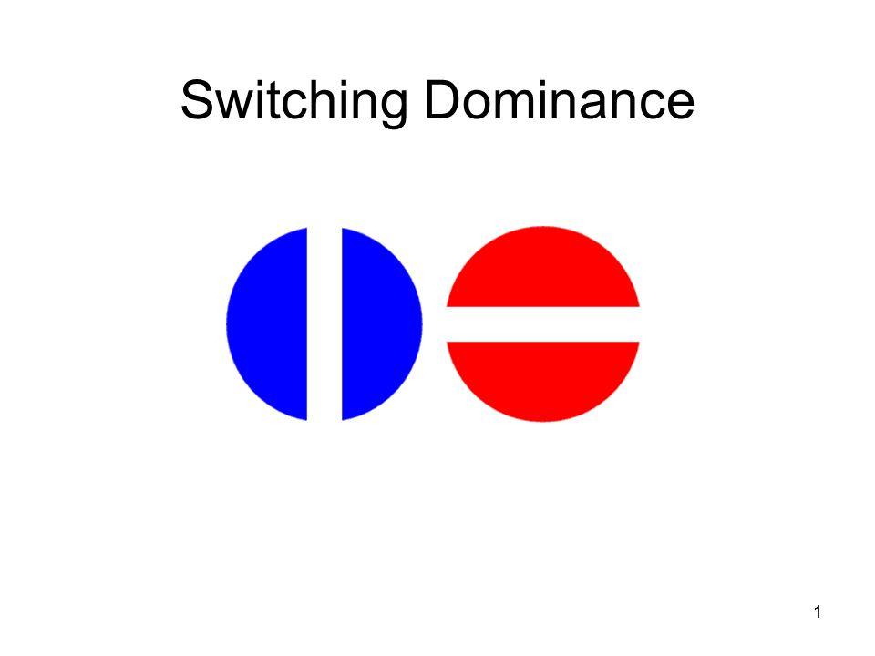 1 Switching Dominance