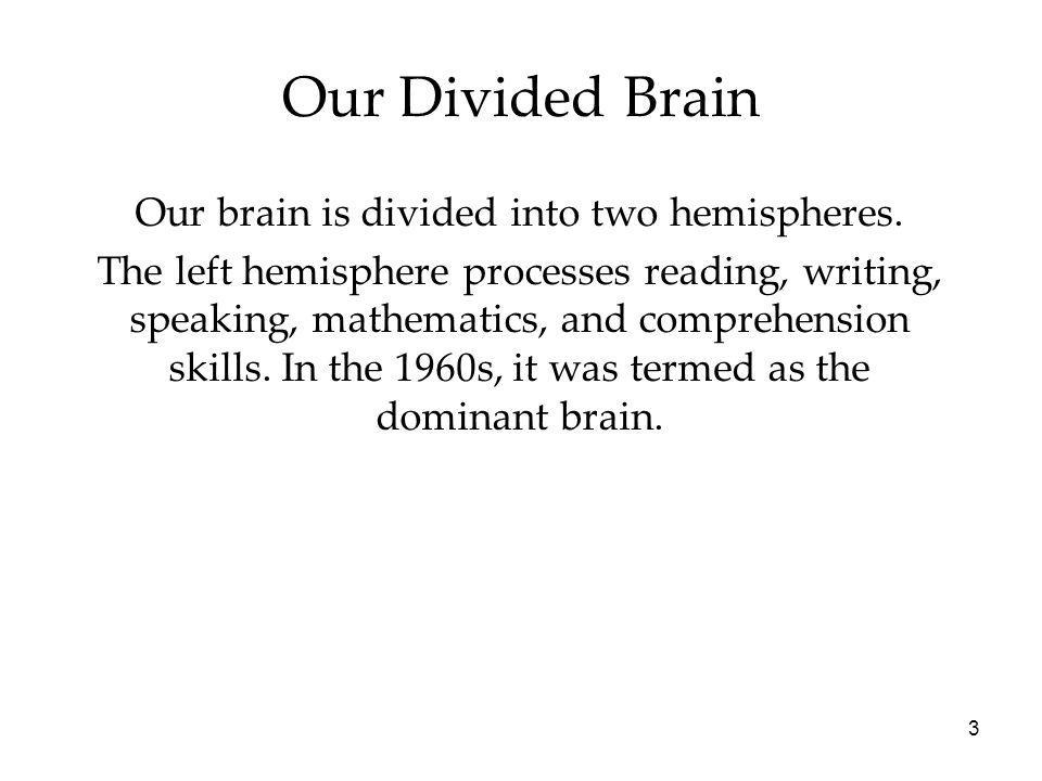 14 Brain Organization & Handedness Is handedness inherited.