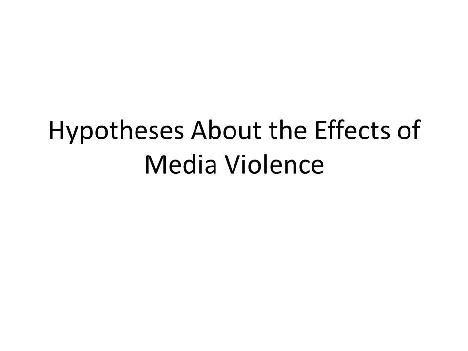 Cartharsis Symbolic violence (TV, music, film, games, etc.) allows us to purge ourselves of violent emotions and feelings through indirect or vicarious experience – Aristotle, Poetics (335 BCE) – Feshbach, The Drive-Reducing Function of Fantasy Behavior (1955)