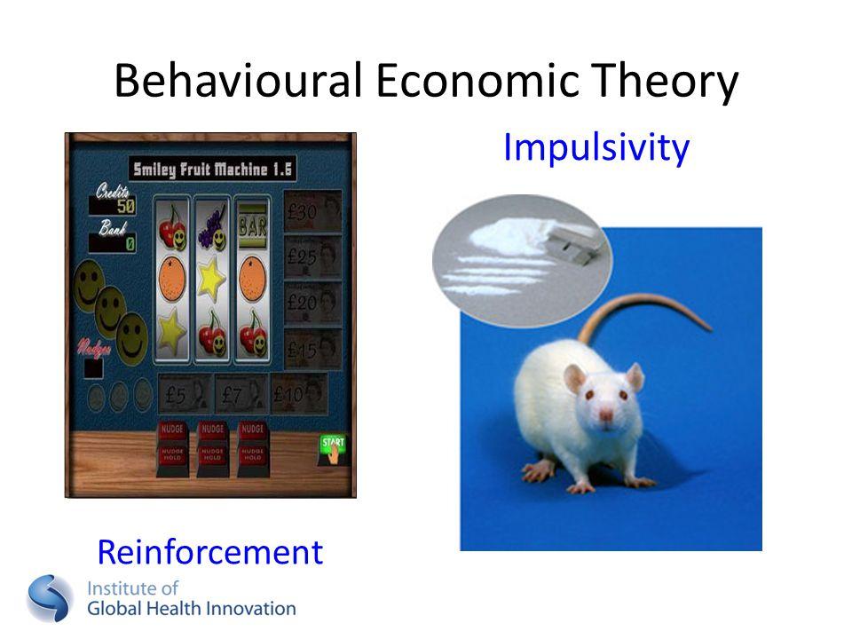 Impulsivity Behavioural Economic Theory Reinforcement