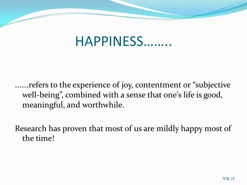 HAPPINESS……........