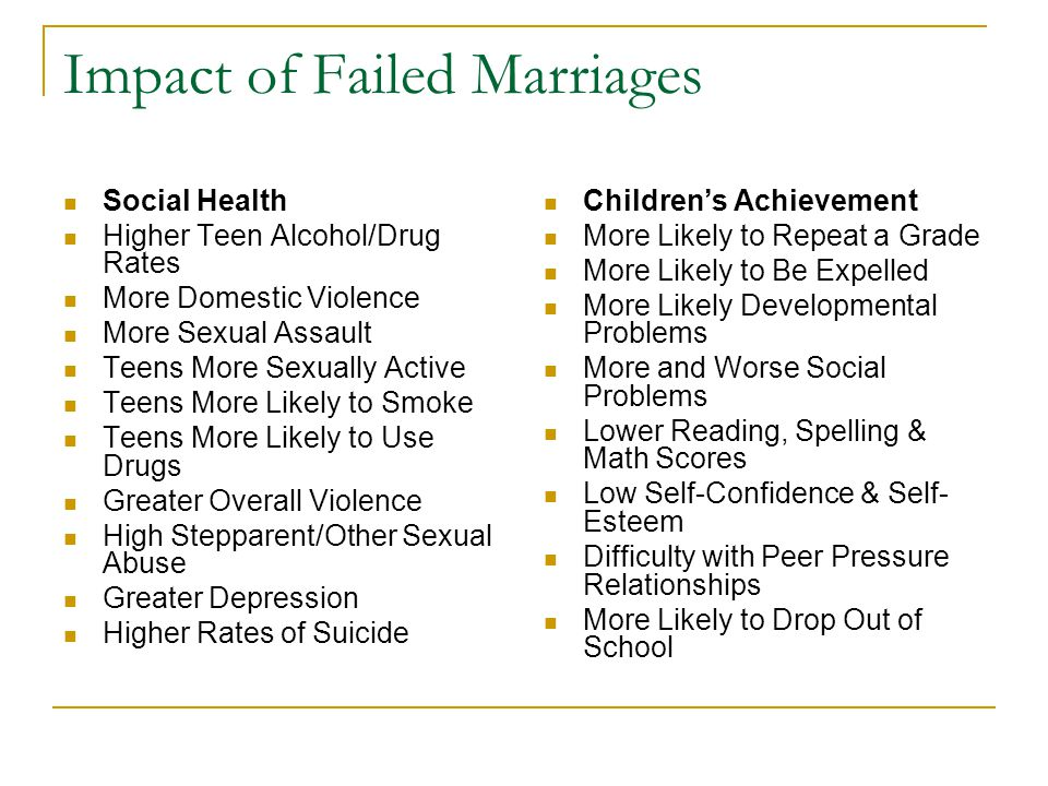 Does Divorce Make People Happy Study Did unhappy spouses who divorced reap significant psychological And emotional benefits.