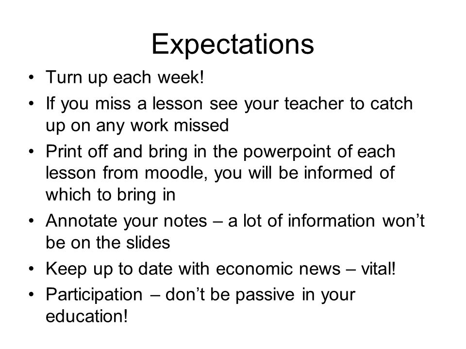 Things to do Print off the course specifications from moodle or the Edexcel website for Units 1 and 2.