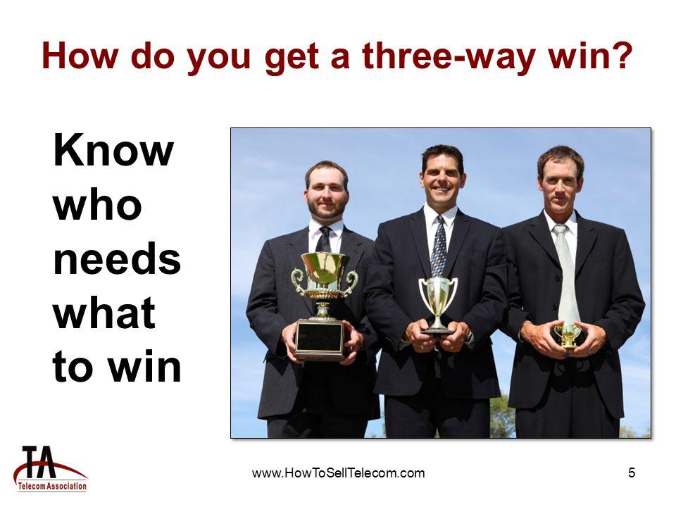 www.HowToSellTelecom.com16 What's Next.