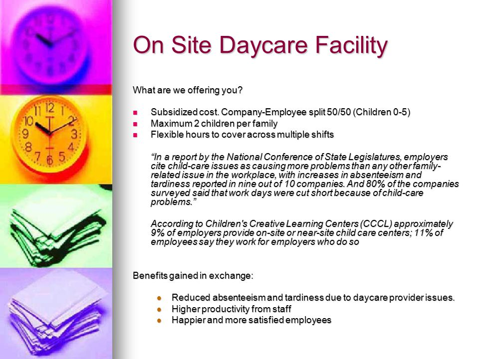 On Site Wellness Services What are we offering you.