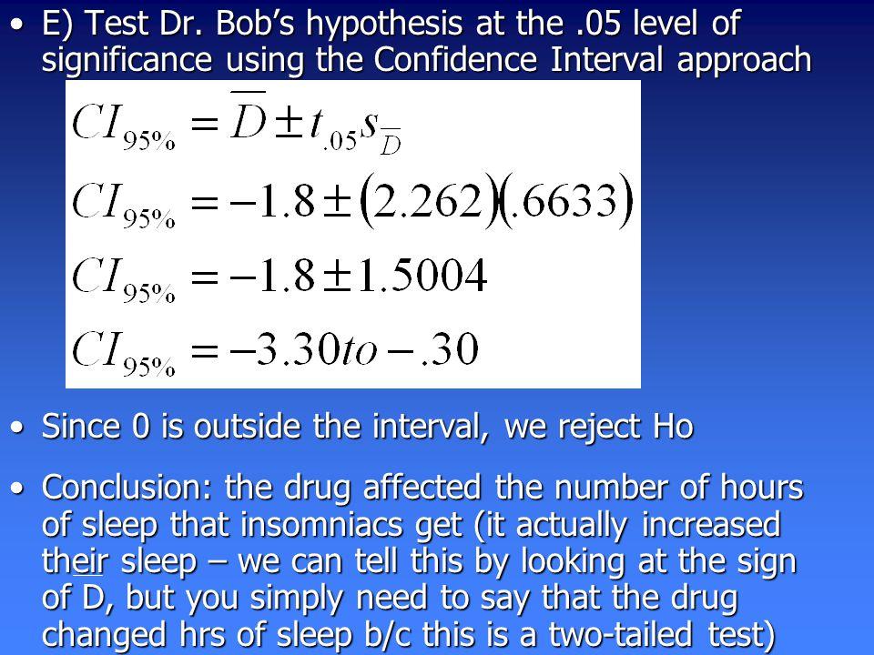E) Test Dr.