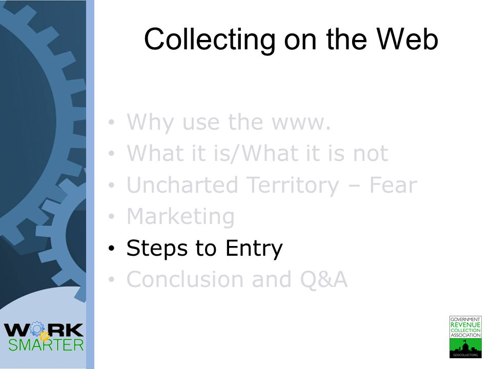 Collecting on the Web Why use the www.