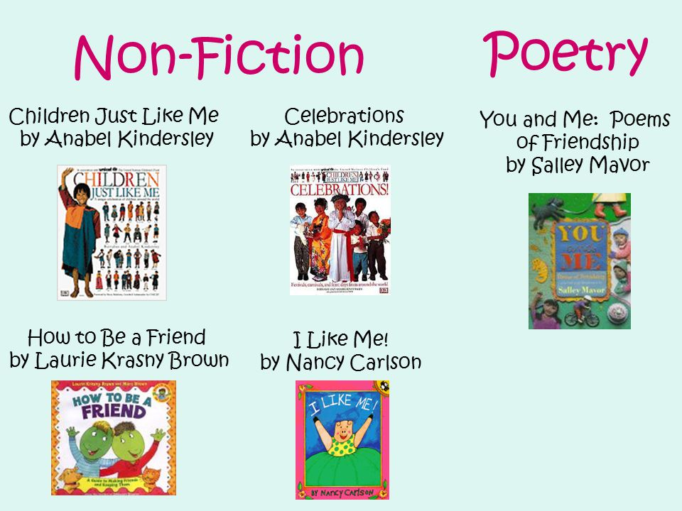 Non-Fiction I Like Me.